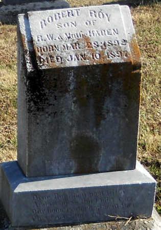 HADEN, ROBERT ROY - Pike County, Missouri | ROBERT ROY HADEN - Missouri Gravestone Photos
