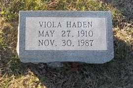 HADEN, VIOLA - Pike County, Missouri   VIOLA HADEN - Missouri Gravestone Photos