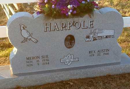 BROWN HARPOLE, MERON SUE - Pike County, Missouri | MERON SUE BROWN HARPOLE - Missouri Gravestone Photos