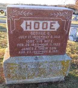 SUMMERS HOOE, IONE - Pike County, Missouri | IONE SUMMERS HOOE - Missouri Gravestone Photos