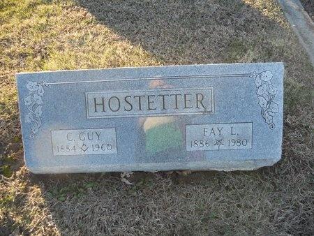 HOSTETTER, CLIFTON GUY - Pike County, Missouri | CLIFTON GUY HOSTETTER - Missouri Gravestone Photos