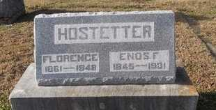 HOSTETTER, ENOS FLOYD - Pike County, Missouri | ENOS FLOYD HOSTETTER - Missouri Gravestone Photos