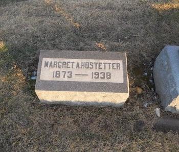 HOSTETTER, MARGRET A - Pike County, Missouri   MARGRET A HOSTETTER - Missouri Gravestone Photos