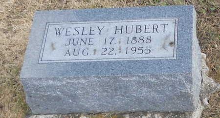 "HUBERT, WILLIAM DANIEL WESLEY ""WESLEY"" - Pike County, Missouri | WILLIAM DANIEL WESLEY ""WESLEY"" HUBERT - Missouri Gravestone Photos"