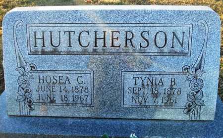 HUTCHERSON, HOSEA G - Pike County, Missouri | HOSEA G HUTCHERSON - Missouri Gravestone Photos