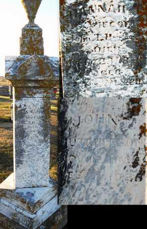 HUTCHERSON, HANNAH - Pike County, Missouri | HANNAH HUTCHERSON - Missouri Gravestone Photos