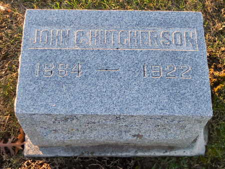HUTCHERSON, JOHN C - Pike County, Missouri | JOHN C HUTCHERSON - Missouri Gravestone Photos