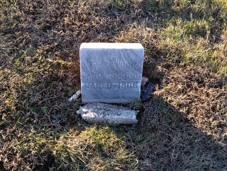 JOHNSON, CHAS - Pike County, Missouri   CHAS JOHNSON - Missouri Gravestone Photos