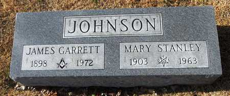 JOHNSON, JAMES GARRETT - Pike County, Missouri | JAMES GARRETT JOHNSON - Missouri Gravestone Photos