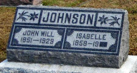BRADLEY JOHNSON, ISABELLE - Pike County, Missouri | ISABELLE BRADLEY JOHNSON - Missouri Gravestone Photos