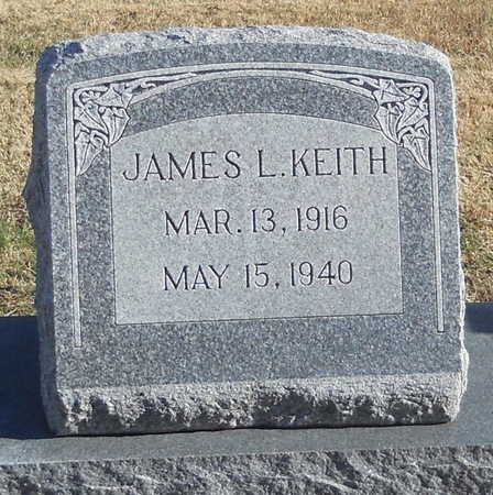 KEITH, JAMES L - Pike County, Missouri | JAMES L KEITH - Missouri Gravestone Photos