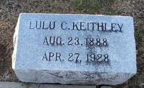 KEITHLEY, LULU CATHERINE - Pike County, Missouri   LULU CATHERINE KEITHLEY - Missouri Gravestone Photos