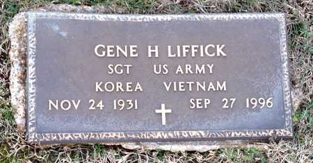 LIFFICK, GENE H (VETERAN KOR VIET) - Pike County, Missouri | GENE H (VETERAN KOR VIET) LIFFICK - Missouri Gravestone Photos