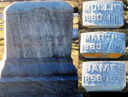 LOWRY, MARTHA - Pike County, Missouri | MARTHA LOWRY - Missouri Gravestone Photos