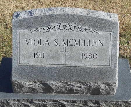 MCMILLEN, VIOLA S - Pike County, Missouri   VIOLA S MCMILLEN - Missouri Gravestone Photos