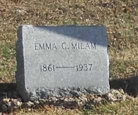 MILAM, EMMA CATHERINE - Pike County, Missouri | EMMA CATHERINE MILAM - Missouri Gravestone Photos