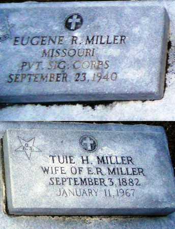 HADEN MILLER, TUIE H - Pike County, Missouri | TUIE H HADEN MILLER - Missouri Gravestone Photos