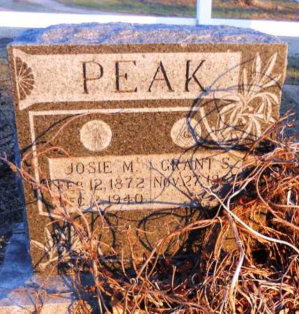 PEAK, JOSIE M - Pike County, Missouri | JOSIE M PEAK - Missouri Gravestone Photos