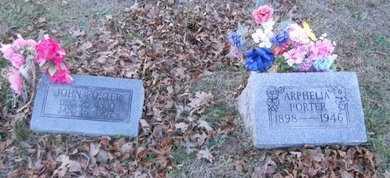 PORTER, ARPHELIA - Pike County, Missouri | ARPHELIA PORTER - Missouri Gravestone Photos