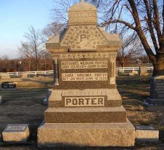 "PORTER, LAURA VIRGINIA ""JENNIE"" - Pike County, Missouri | LAURA VIRGINIA ""JENNIE"" PORTER - Missouri Gravestone Photos"