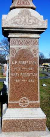 ROBERTSON, ALONZO PRITCHETT - Pike County, Missouri | ALONZO PRITCHETT ROBERTSON - Missouri Gravestone Photos