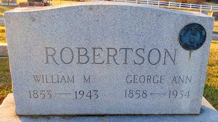 ROBERTSON, WILLIAM MARSHALL - Pike County, Missouri | WILLIAM MARSHALL ROBERTSON - Missouri Gravestone Photos