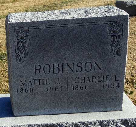 ROBINSON, CHARLES L - Pike County, Missouri | CHARLES L ROBINSON - Missouri Gravestone Photos
