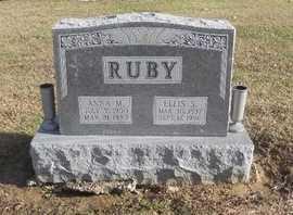 RUBY, ANNA MILDRED - Pike County, Missouri | ANNA MILDRED RUBY - Missouri Gravestone Photos