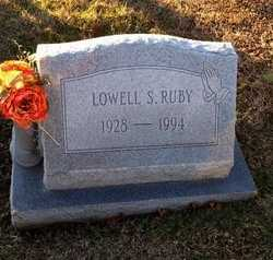 RUBY, LOWELL SEVIER - Pike County, Missouri | LOWELL SEVIER RUBY - Missouri Gravestone Photos