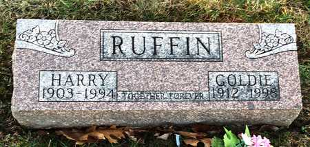 RUFFIN, GOLDIE - Pike County, Missouri | GOLDIE RUFFIN - Missouri Gravestone Photos