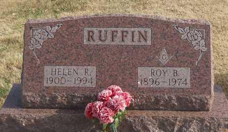 RUFFIN, ROY BRYAN - Pike County, Missouri | ROY BRYAN RUFFIN - Missouri Gravestone Photos