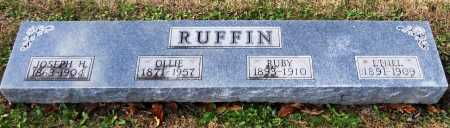 RUFFIN, RUBY - Pike County, Missouri | RUBY RUFFIN - Missouri Gravestone Photos
