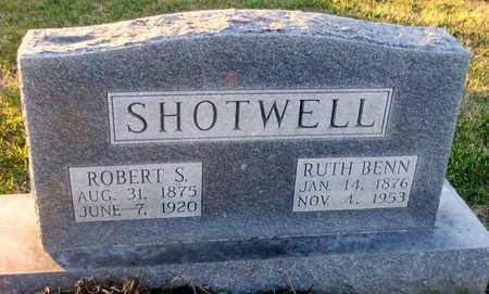 BENN SHOTWELL, RUTH LUCINDA - Pike County, Missouri | RUTH LUCINDA BENN SHOTWELL - Missouri Gravestone Photos