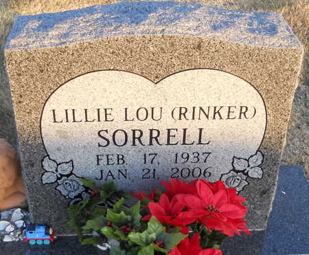 SORRELL, LILLIE LOU - Pike County, Missouri | LILLIE LOU SORRELL - Missouri Gravestone Photos