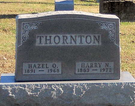 THORNTON, HAZEL CLARA - Pike County, Missouri   HAZEL CLARA THORNTON - Missouri Gravestone Photos