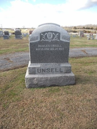 UNSELL, BOWLES - Pike County, Missouri | BOWLES UNSELL - Missouri Gravestone Photos