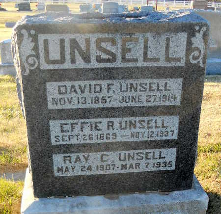 UNSELL, RAY CAMPBELL - Pike County, Missouri | RAY CAMPBELL UNSELL - Missouri Gravestone Photos