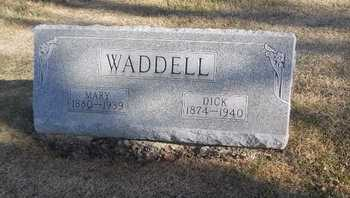 WADDELL, DICK - Pike County, Missouri | DICK WADDELL - Missouri Gravestone Photos