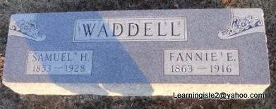 WADDELL, SAMUEL H - Pike County, Missouri | SAMUEL H WADDELL - Missouri Gravestone Photos