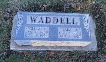 WADDELL, SARAH JOSEPHINE - Pike County, Missouri | SARAH JOSEPHINE WADDELL - Missouri Gravestone Photos
