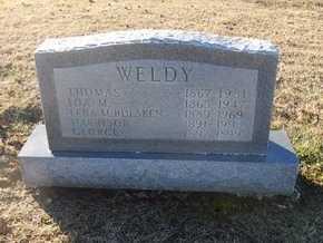 WELDY, GEORGE - Pike County, Missouri | GEORGE WELDY - Missouri Gravestone Photos
