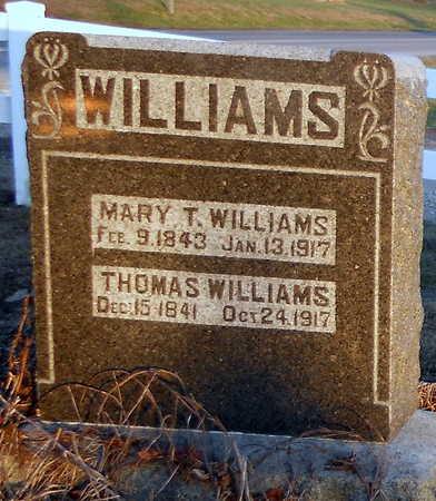 WILLIAMS, THOMAS - Pike County, Missouri | THOMAS WILLIAMS - Missouri Gravestone Photos