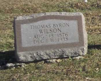 WILSON, THOMAS BYRON - Pike County, Missouri | THOMAS BYRON WILSON - Missouri Gravestone Photos