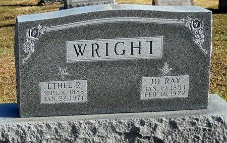 WRIGHT, ETHEL R - Pike County, Missouri | ETHEL R WRIGHT - Missouri Gravestone Photos