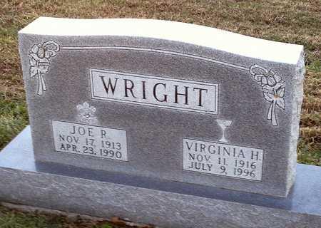 WRIGHT, VIRGINIA H - Pike County, Missouri | VIRGINIA H WRIGHT - Missouri Gravestone Photos