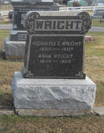 WRIGHT, ANNA - Pike County, Missouri | ANNA WRIGHT - Missouri Gravestone Photos