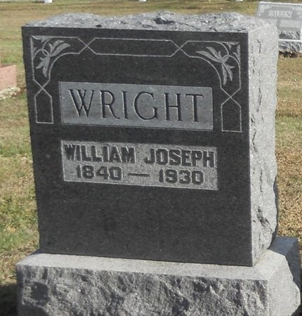 WRIGHT, WILLIAM JOSEPH - Pike County, Missouri | WILLIAM JOSEPH WRIGHT - Missouri Gravestone Photos