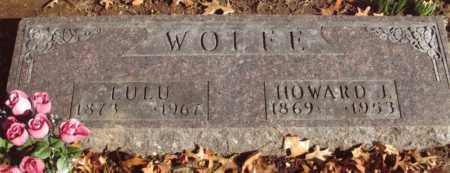 WOLFE, LULU - Polk County, Missouri | LULU WOLFE - Missouri Gravestone Photos