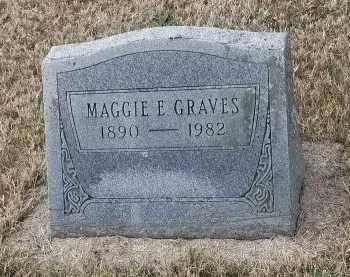 GRAVES, MAGGIE - Pulaski County, Missouri | MAGGIE GRAVES - Missouri Gravestone Photos