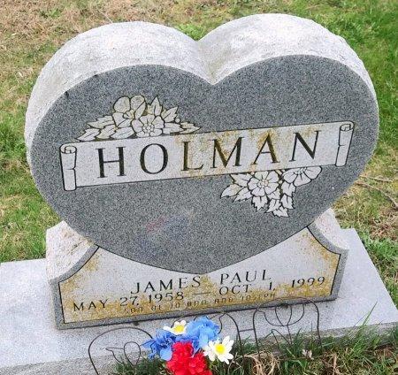 HOLMAN, JAMES PAUL - Ralls County, Missouri | JAMES PAUL HOLMAN - Missouri Gravestone Photos